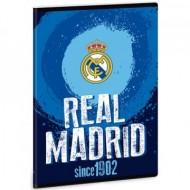 Caiet cu foaie velina FC Real Madrid albastru A5 40 file