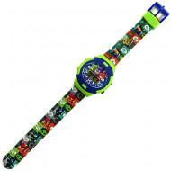 Ceas de mana digital cu personaje Eroi in Pijama