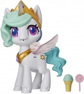 Figurina interactiva My Little Pony Magical Kiss, Printesa Celestia cu sunete si lumini