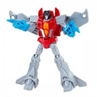Figurina transformabila Starscream Transformers Cyberverse Warrior Class