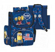 Ghiozdan ergonomic Blue Minions UK 37 cm