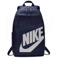 Ghiozdan rucsac Nike Elemental bleumarin cu scris alb, cu 4 compartimente