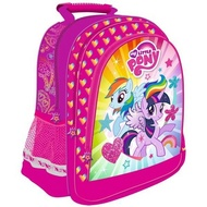 Ghiozdan rucsac scoala My Little Pony roz