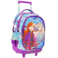 Ghiozdan rucsac troler Elsa si Anna Disney Frozen