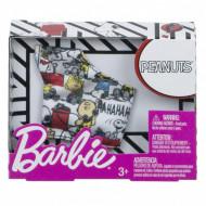 Haine Barbie - Top alb cu imprimeu Peanuts