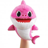 Jucarie de plus interactiva Baby Shark care canta - mama rechin