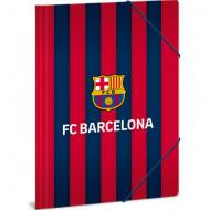 Mapa cu elastic rosu - albastru A4 FC Barcelona