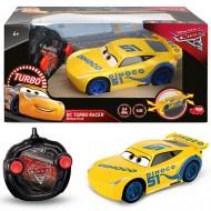 Masinuta Cars: RC Turbo Racer Cruz Ramirez cu telecomanda