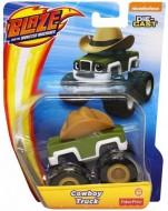 Masinuta Metalica Cowboy Truck Blaze and the Monster Machines