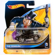 Masinuta The Penguin 1/64 Hot Wheels DC Universe