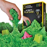National Geographic STEM Kit - Nisip special kinetic verde