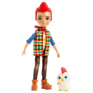 Papusa Redward Rooster si figurina Cluck EnchanTimals