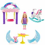 Papusica Barbie Dreamtopia si Leaganul Curcubeu