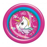 Piscina gonflabila cu 3 inele unicorn