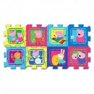 Puzzle din burete Peppa Pig 8 bucati