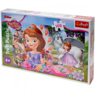 Puzzle Printesa Sofia 100 piese