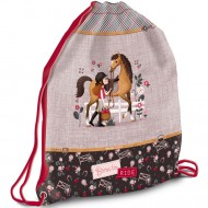 Sac de umar cu snur Born To Ride