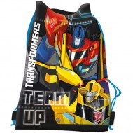 Sac de umar cu snur Transformers Team up