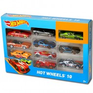 Set 10 masinute metalice 1/64 Hot Wheels 10
