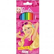 Set 12 creioane colorate Barbie