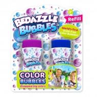 Set 2 rezerve baloane de sapun Bedazzle Bubbles