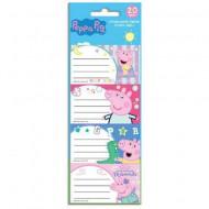 Set 20 etichete Peppa Pig