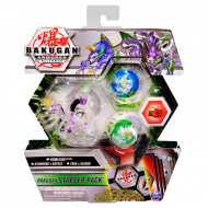Set Bakugan Armored Alliance Start figurine Howlkor Ultra - Hydorous x Batrix - Trox x Sairus