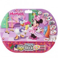 Set creativ Giga Block 5 in 1 Minnie Mouse