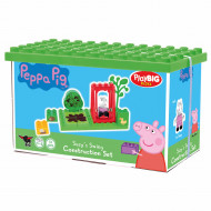 Set de constructie Big Bloxx Peppa Pig leaganul lui Suzy