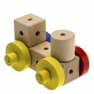 Set de constructie lemn Matador Country Maker