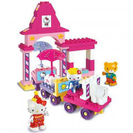 Set de cuburi Gara Hello Kitty Unico