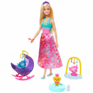 Set de joaca Barbie Dreamtopia - Cresa Dragoneilor