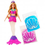 Set de joaca Barbie Dreamtopia Sirena Slime