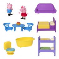 Set de joaca Casuta familiei cu patru etaje Peppa Pig