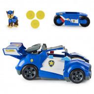 Set de joaca Chase si masina de politie transformabila Patrula Catelusilor - Filmul