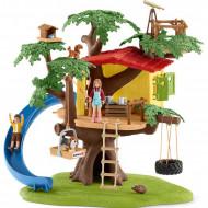 Set de joaca cu figurine Schleich - Casa din copac
