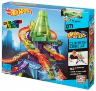 Set de joaca Laboratorul Stiintific Hot Wheels Colour Shifters