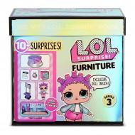 Set de joaca LOL Surprise Furniture Roller Rink cu papusa Roller Sk8er Seria 3