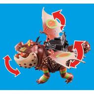 Set de joaca Playmobil Cum sa iti dresezi dragonul - Fishlegs si Meatlug 70729