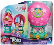 Set de joaca portabil cu figurina si accesorii Trolii - In turneu cu Balonul