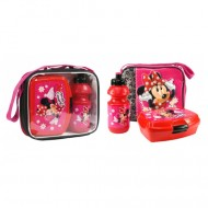 Set de pranz in ambalaj transparent Minnie Mouse