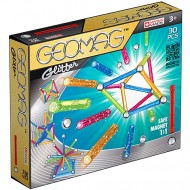 Set Geomag Magnetic Glitter 30 de piese