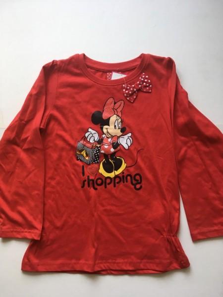 Bluza Minnie rosu