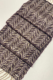 MOHAIR PETALS - ručno tkan šal