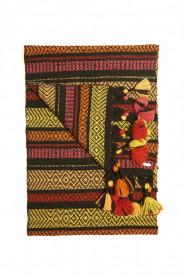 COLOURS OF AFRICA - ručno tkan šal