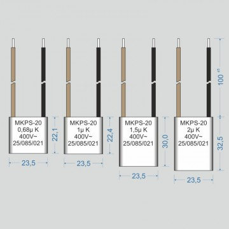 Condensator  1 µF