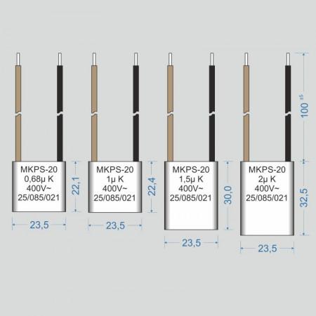 Condensator  1.5 µF