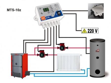 termostat digital pentru control pompe