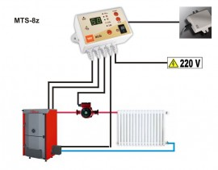 termostat digital controler pompe