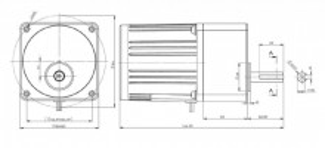 Motoreductor arzator peleti 80-25